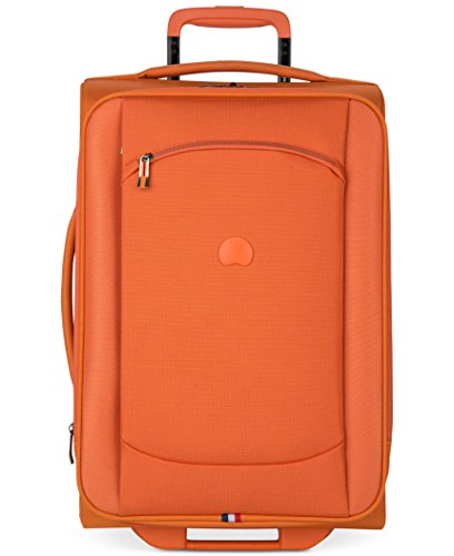 Expandable Wheeled Trolley - Delsey Hyperlite 2.0 Carry-On Expandable 2 Wheeled Trolley (orange)