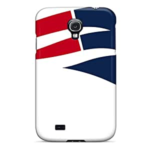 New Premium Flip Cases Covers New England Patriots Skin Cases For Galaxy S4
