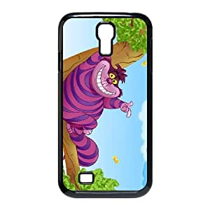 Samsung Galaxy S4 9500 Cell Phone Case Black Disney Alice in Wonderland Character Cheshire Cat Xvpae