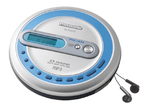 Panasonic SL-SV570 Personal CD / MP3 Player with AM / FM (Panasonic Cd Player)
