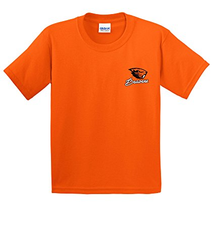 NCAA Oregon State Beavers Girls Cheer Loud Short Sleeve Cotton T-Shirt, Youth ()