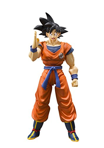 Bandai Tamashii Nations S.H. Figuarts Son Goku (A Saiyan Raised on Earth) Dragon Ball Super Action Figure