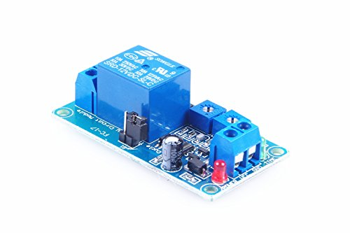 KNACRO Adjutable 12V Repeat Cycle Relay Switch Power Controller Module 0-200s (Relay Cycle Delay Time Repeat)