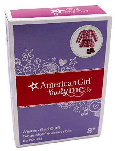 - American Girl - Western Plaid Outfit for Dolls - Truly Me 2015
