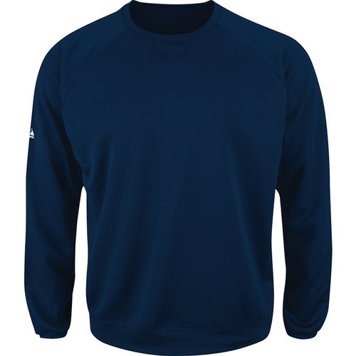 Majestic Athletic Majestic Youth Home Plate Tech Fleece Pullover Navy M