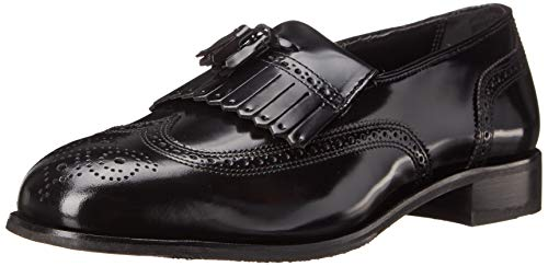 (Florsheim Men's Lexington Kilty Tassel Loafer,Black,10 D)