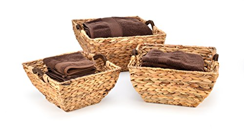 Trademark Innovations Hyacinth Baskets Handles product image