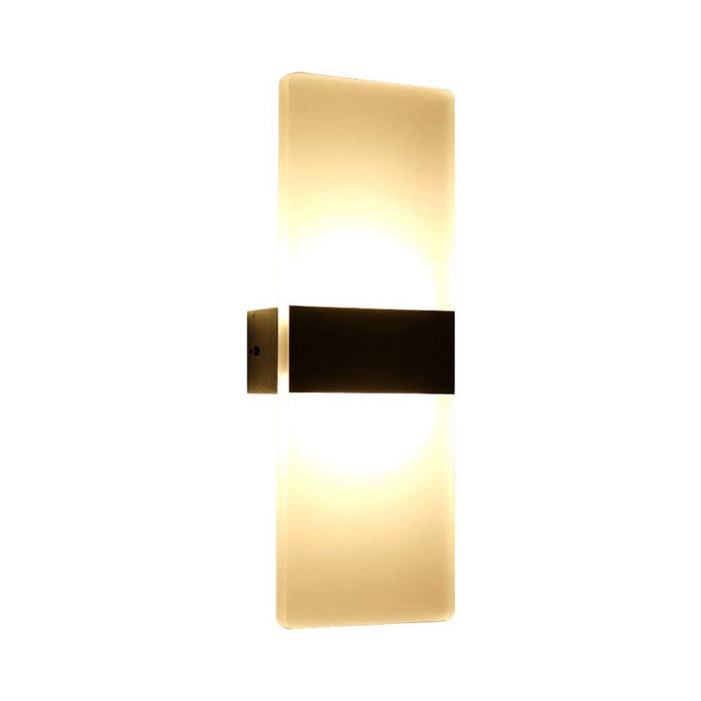 HTZ Wandleuchte Kreative Moderne Minimalistische weiße Eis Block Wohnzimmer Schlafzimmer Flur Wand Led-leuchten A++