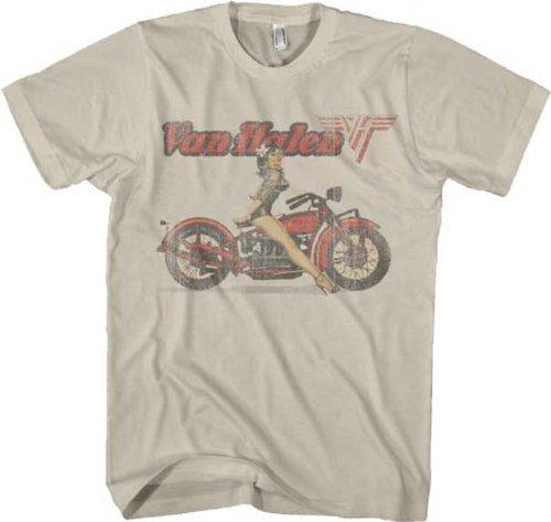 Van Halen Biker Pinup Beige