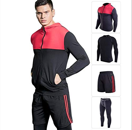 Hommes De Sport Zjbsw Jogging Sportif Sportswear Physique Costumes Vêtements Running Gymnase Entraînement pnFpOfx