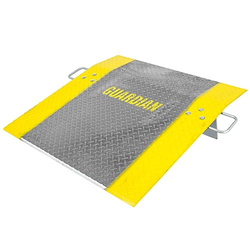 Guardian Rage Powersports ADP-3636-2500 36''x36'' Aluminum 2,500 lb Pallet Jack Loading Dock Plate by Guardian