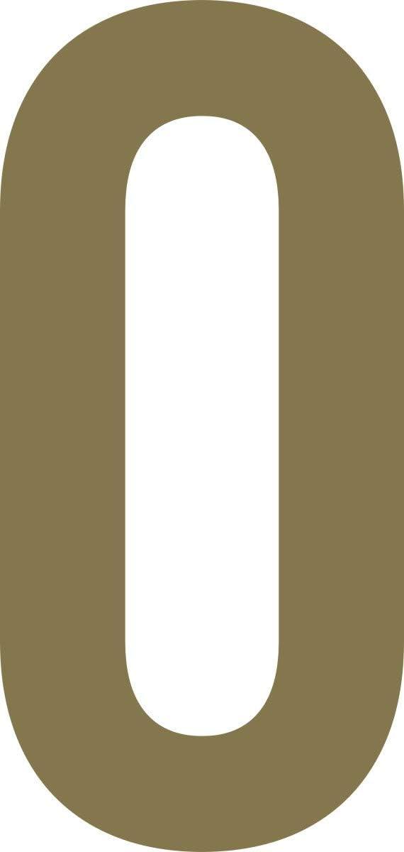von 2-20cm H/öhe Zahl 5-20cm Nummern ShirtInStyle Zahlen selbsklebende Aufkleber Haust/ür M/ülltone Basteln Kennzeichen Boote schwarz