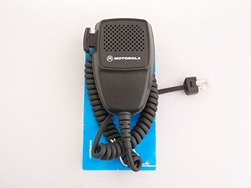 Motorola HMN3596A microphone and hang clip for motorola mobile radios ALL Maxtrac Mobiles, PM400, GR400, GR500, GM300, GTX Mobile, M1225, M10, M100, M120, M130, M200, M1225, Sportbase, M400, Radius Mobile, GR300, GR1225, R1225, LCS2000, Maratrac, SM50, SM120 and Desktra