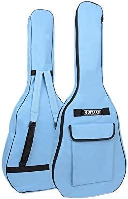Estuche para guitarra Bolsa de guitarra acústica Correas dobles ...