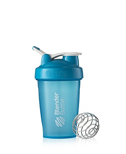 BlenderBottle Classic Loop Top Shaker Bottle, Aqua/Aqua, 20-Ounce Loop Top 20 Ounce Bike Bottle