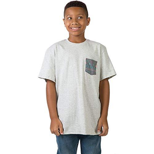 T-Shirt Com Bolso Lisa Infantil Masculino Cru CRU/08