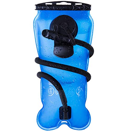 Baen Sendi Hydration Bladder 3 Liter//100 oz - Water Bladder for Hydration Pack (Blue)