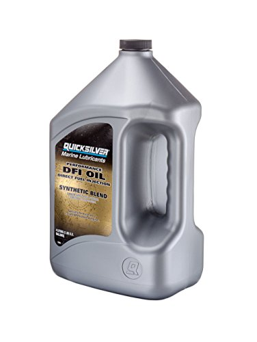 - Quicksilver 858037Q01 Heavy-Duty Direct Injection Engine Oil, 1 Gallon Bottle
