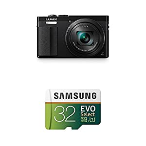 Panasonic Lumix ZS50 Camera, Black (Amazon Exclusive) from Panasonic
