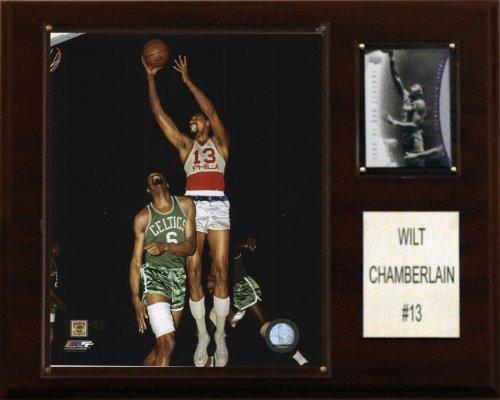 NBA Wilt Chamberlain Philadelphia 76ers Player Plaque ()