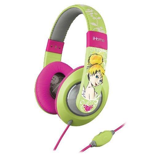 iHome DT M40 KIDdesigns Tinkerbell Headphones