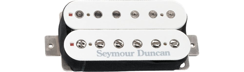 Seymour Duncan SH-6 Distortion Humbucker Pickup White Bridge