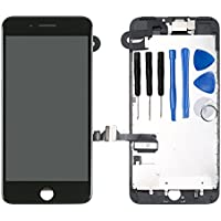 For iPhone 7 Plus Digitizer Screen Replacement Black -...