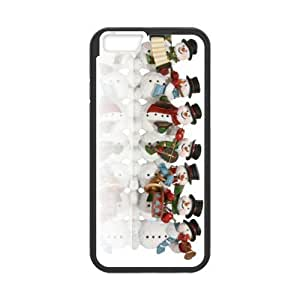 Christmas Snowman with Fits they iphone 6 swelling 4.7 TPU (Laser Technology) other -Mobile,AT&T,Sprint,Verizon and International