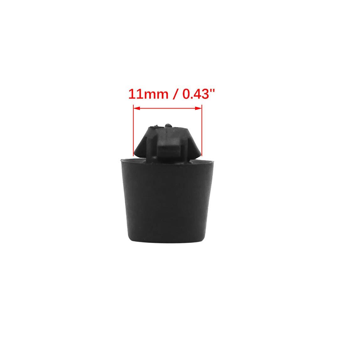 X AUTOHAUX Montage M/émoire Tampon Bloc Caoutchouc Amortisseur pour Capot Voiture 16.2 X 20mm 2pcs