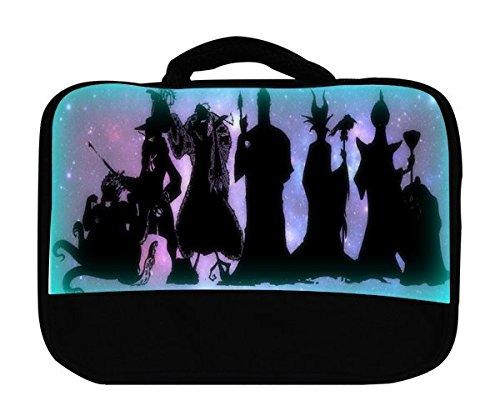Trendy Accessories Villains United Silhouette Design Print Pattern Canvas Lunch -