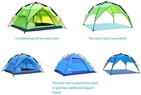 D-tal 1 and 2 Person Outdoor Camping Backpacking Tent