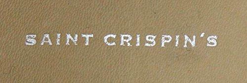 Nuove Scarpe Saint Crispins In Pelle Nera 8.5 C / 7.5 E
