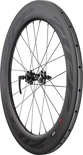 Zipp Wheel 808 Front (Zipp 808 Tubular Disc Brake Front Wheel 700c 24 Spokes 77D V2 Black Decal)