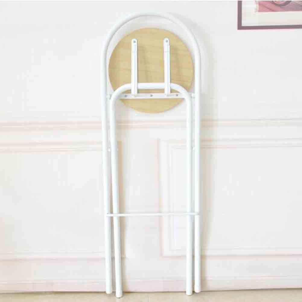 TLMYDD 6つの折る高いスツールバーチェアの各セットは75 cmの高さに座ります 椅子 (Color : Wood color) B07RSGPKN4 Wood color