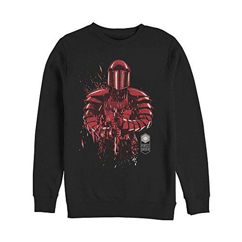 (Star Wars The Last Jedi Men's Elite Guard Fleck Black Sweatshirt)