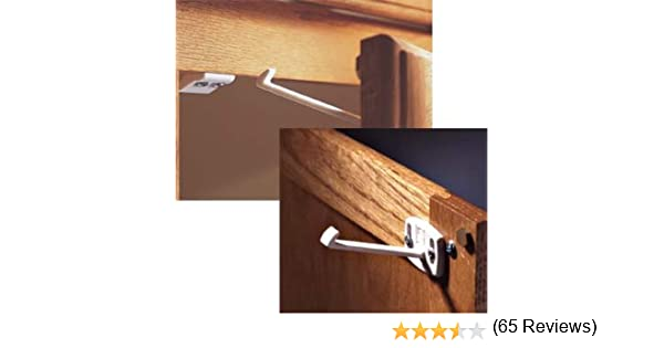Amazon.com: Kidco Swivel Cabinet & Drawer Lock - 2 Packs (8 Locks ...