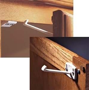 Kidco Swivel Cabinet & Drawer Lock - 2 Packs (8 Locks)