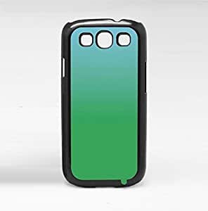 Blue and Green Ombre Gradient Hard Snap on Phone Case (Galaxy s3 III)