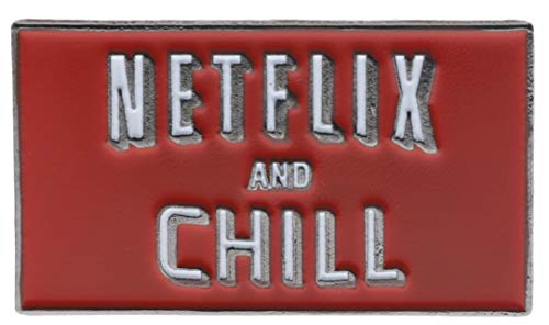 Netflix and Chill Hat or Lapel pin PSPflixndchil
