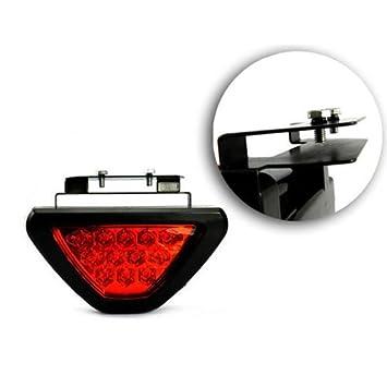 camions SUV Homme femme Enf DLLL universel haute luminosit/é /étanche 12/V 12/LED F1/Style de voiture clignotant 3/ème Triangle arri/ère Queue de frein lampe support Flash stroboscopique pour micros remorques RVS