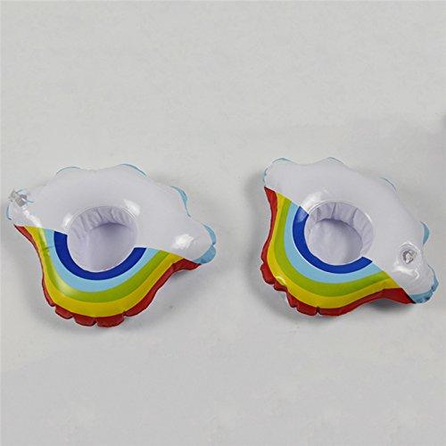 ADSROPack - Posavasos hinchables para piscina, diseño de nube ...