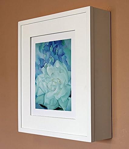 White Picture Perfect Medicine Cabinet, A Wall Mount Picture Frame Medicine  Cabinet Without Mirror