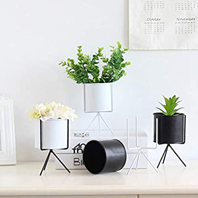 LiPing Iron Plant Vase Stand Garden Vetplant Bloempot Voor Plant Flower Pots Romantic Home Wedding Birthday Valentine's Day Dinner Decor