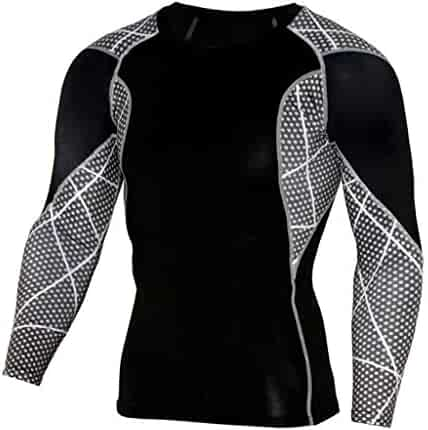 68a9fbe3e4a TIFENNY Men Workout Leggings Fitness Sports Gym Running Yoga Athletic  Shirts Top Blouse Fashion Soft Quick