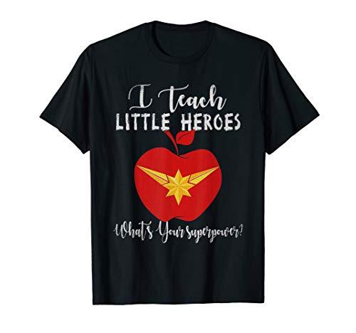 I Train Super Heroes Kid Teachers Shirts Superheroes