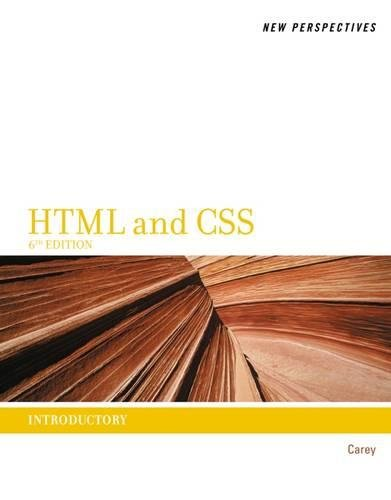 New Perspectives on HTML and CSS: Introductory by Cengage Learning