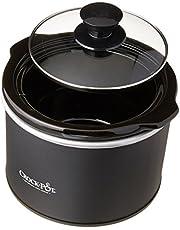 Crock-Pot SCR151 1-1/2-Quart Round Manual Slow Cooker, Black