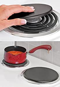 Heavy Cast-iron Electric Burner Heat Plates! Gives Electric Burners a Boost!