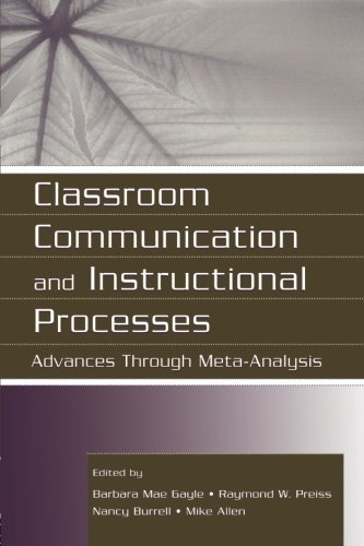 Classroom Communication and Instructional Processes (Routledge Communication Series)