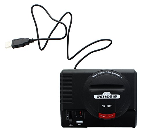 Sega Genesis 16-Bit Mini Classic Game Console USB Hub, used for sale  Delivered anywhere in USA